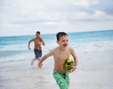 Boys-playing-football-in-water