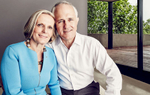 Prime Minister Malcom Turnbull and wife Lucy
