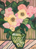 Flowers Green Vase