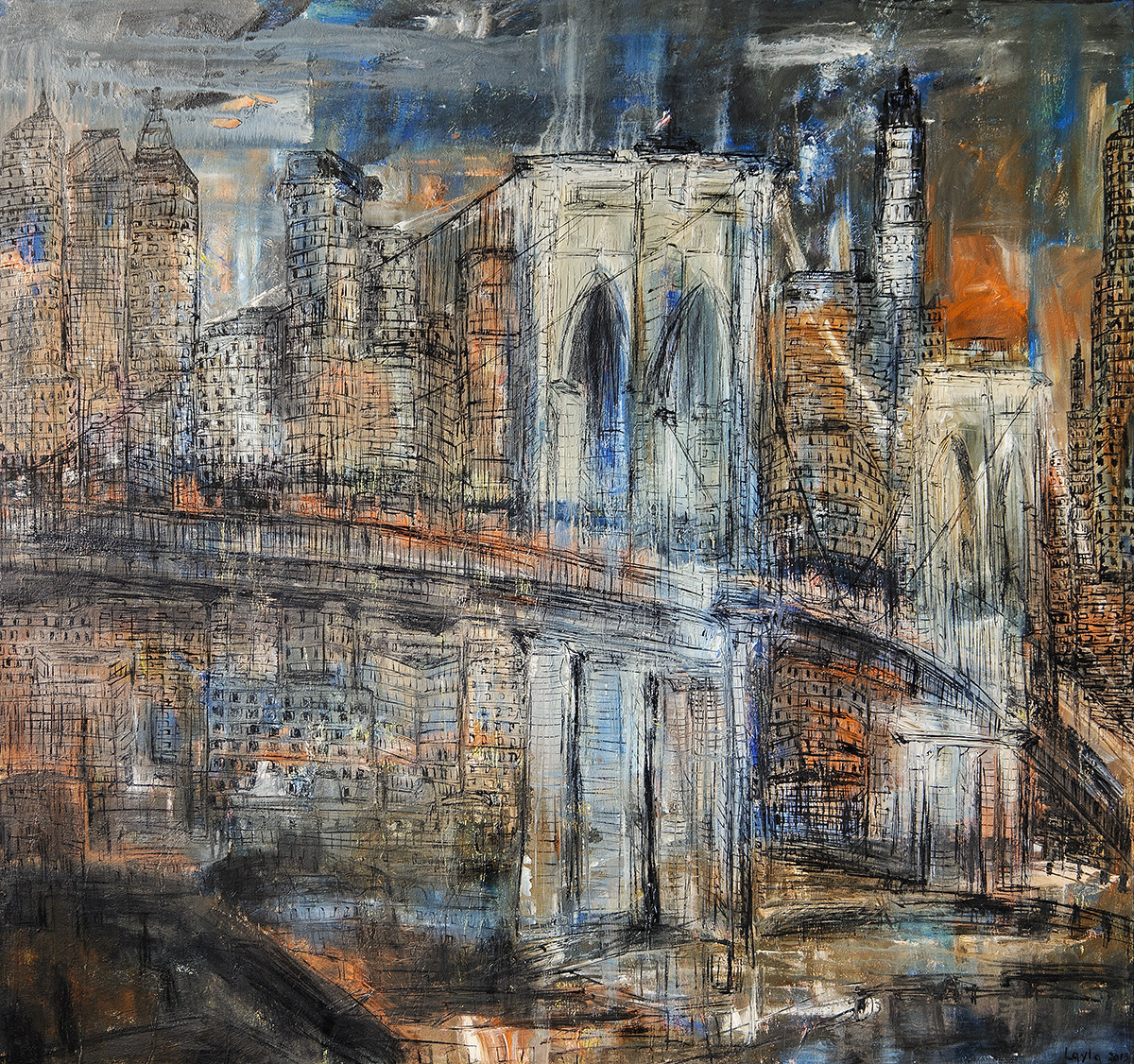 Brooklyn Bridge Opus 57