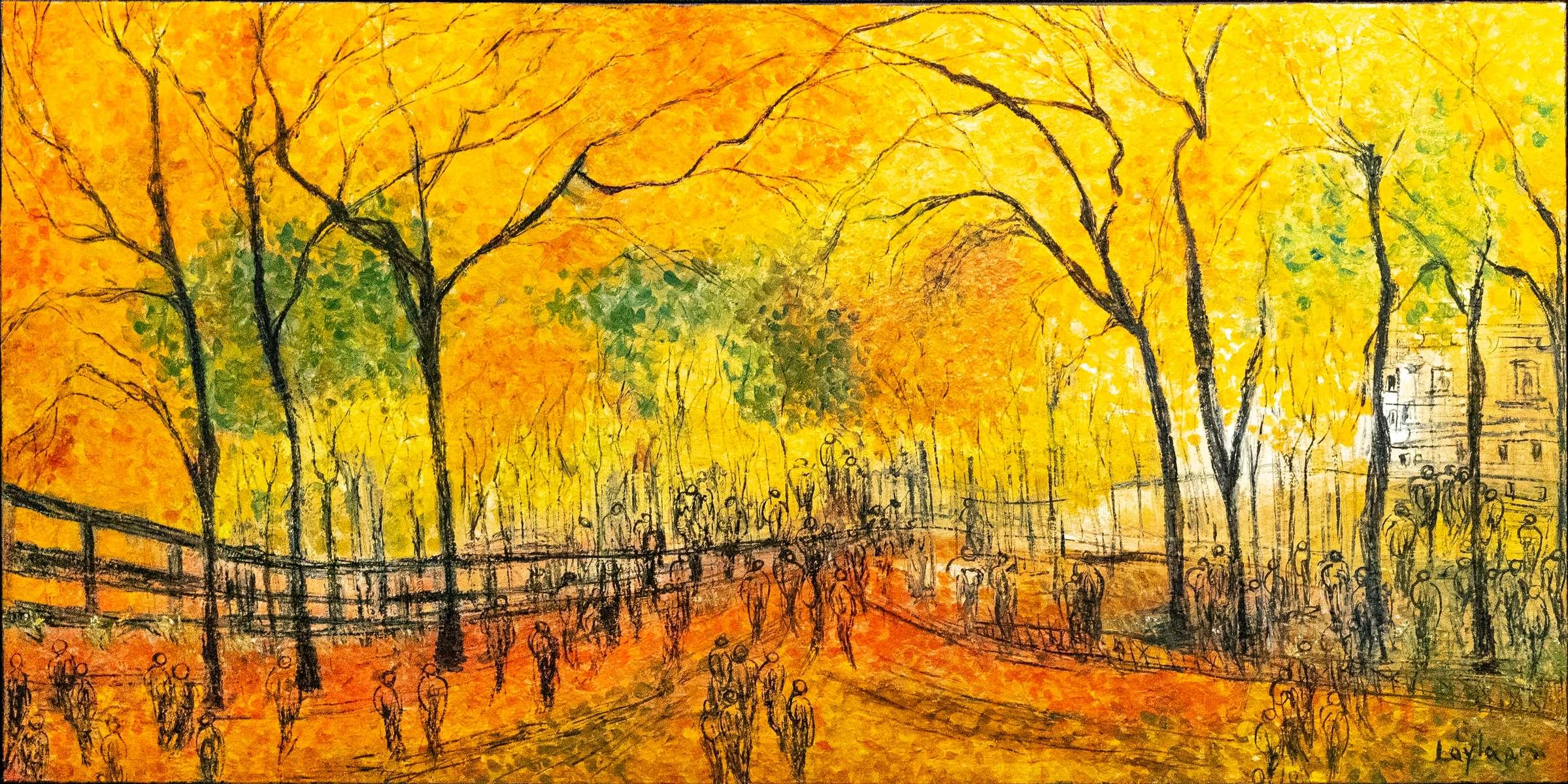 Fall Central Park Opus 77