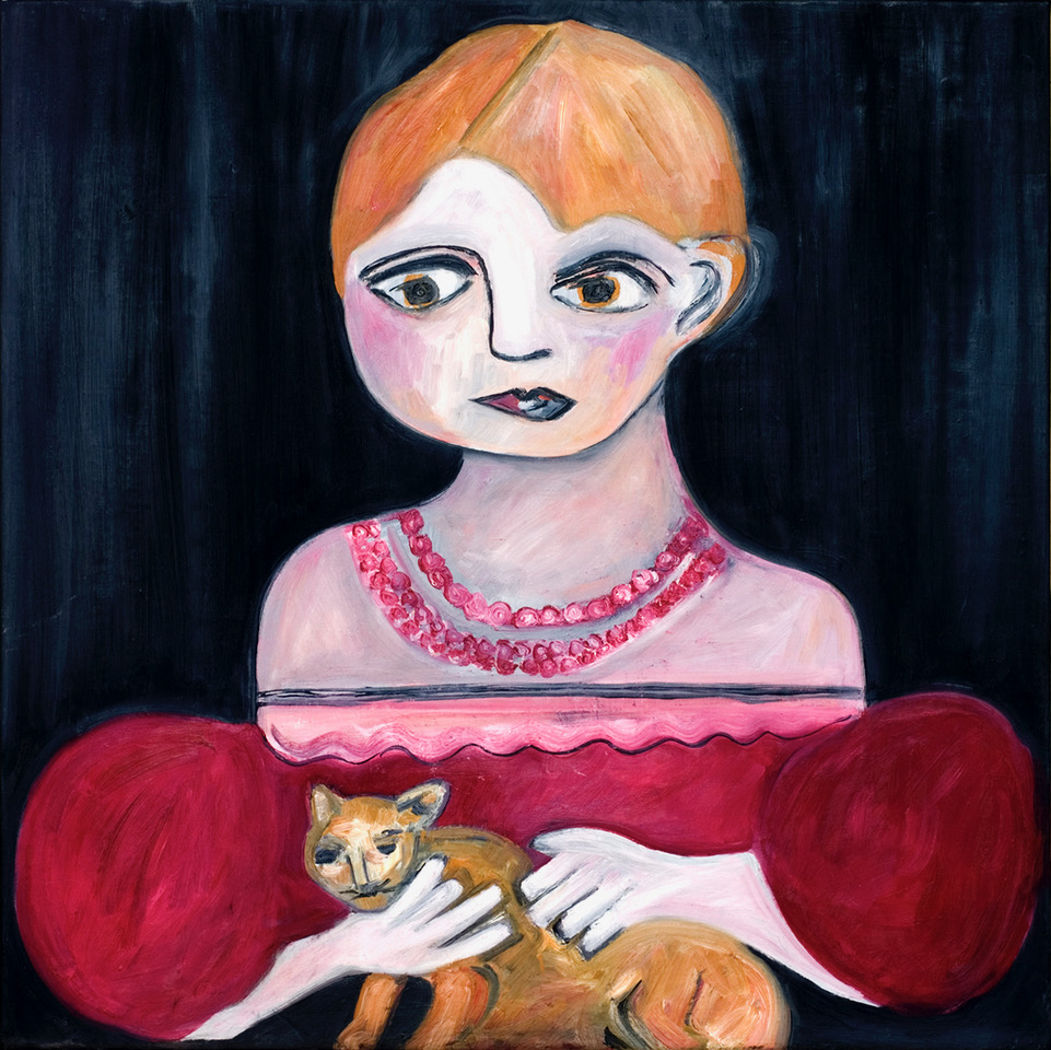 Girl with Cat Opus 1999