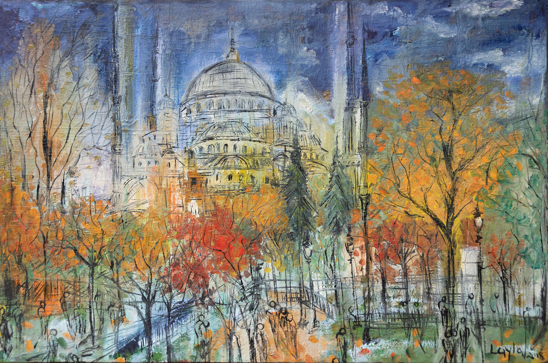 Istanbul Blue Mosque Opus 1