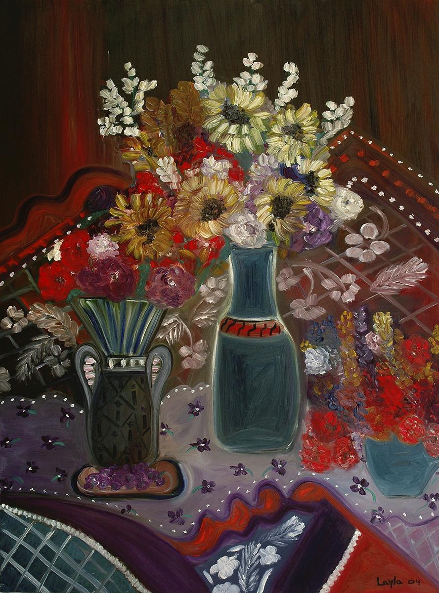 FLowers on Table, Opus 11