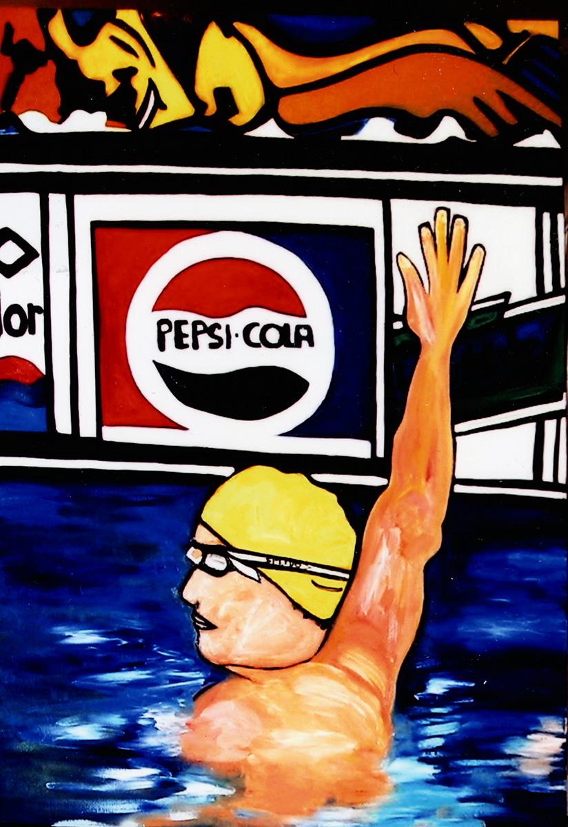 Swimmer Paul