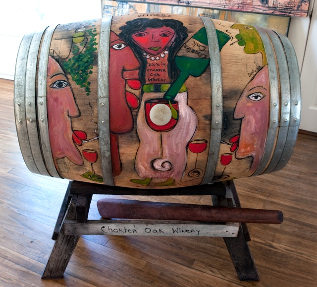 Charter Oak Wine Barrel