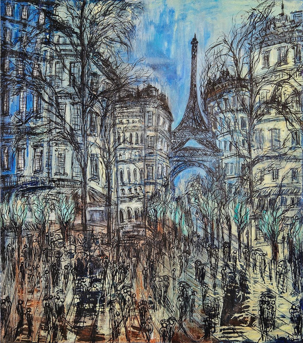 Paris in Winter Opus II