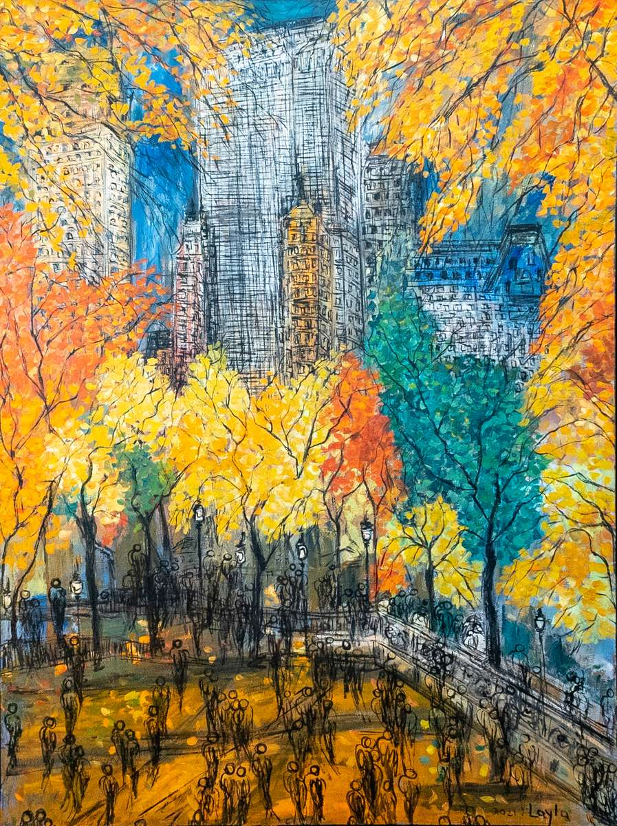 Spring in Central Park - New- York - Opus 928
