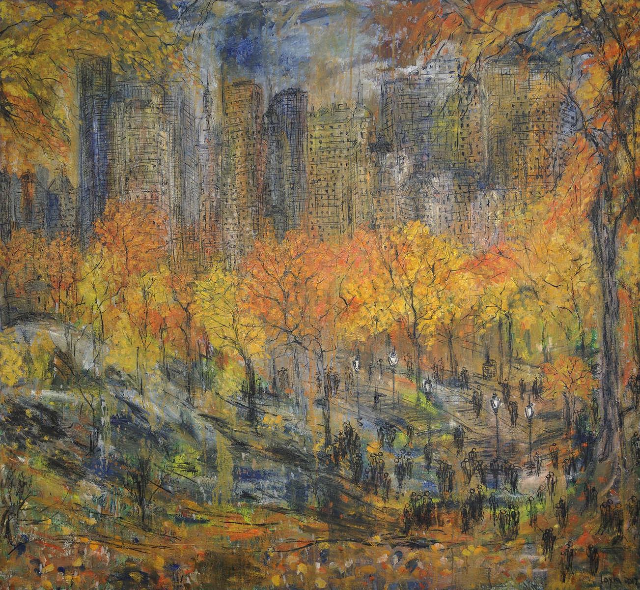New York Central Park, Opus 555