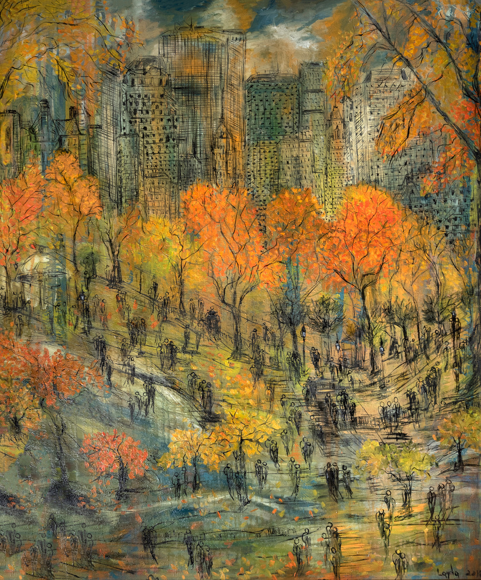 New York Central Park Dream Opus 2019