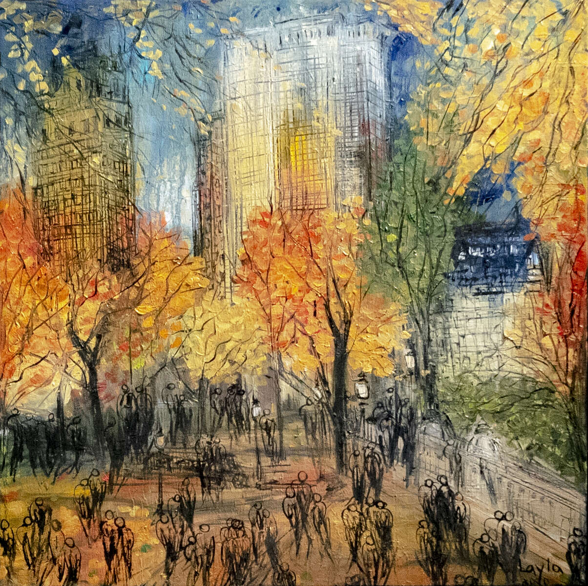 Fall in Central Park, Opus 18801