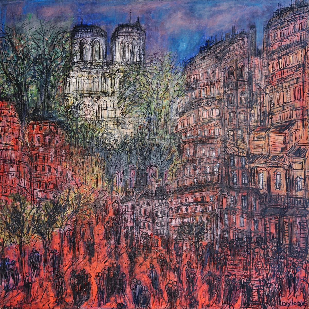 Street of Paris, Opus 60