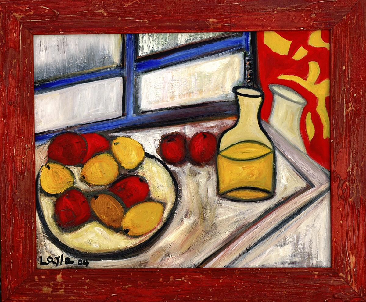Fruit on Table-Opus I
