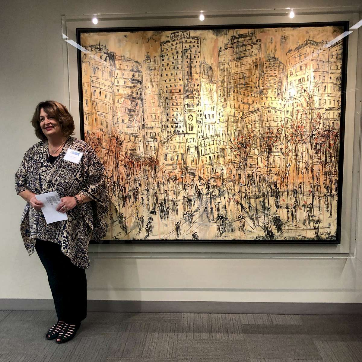 Celebration of the Unveiling of {quote} City of the World Opus 2015,{quote} by international artist and distinguished SF State Alumna,  Layla Fanucci - now in permanent collection at the J. Paul Leonard Library.August 15, 2018Watch Video