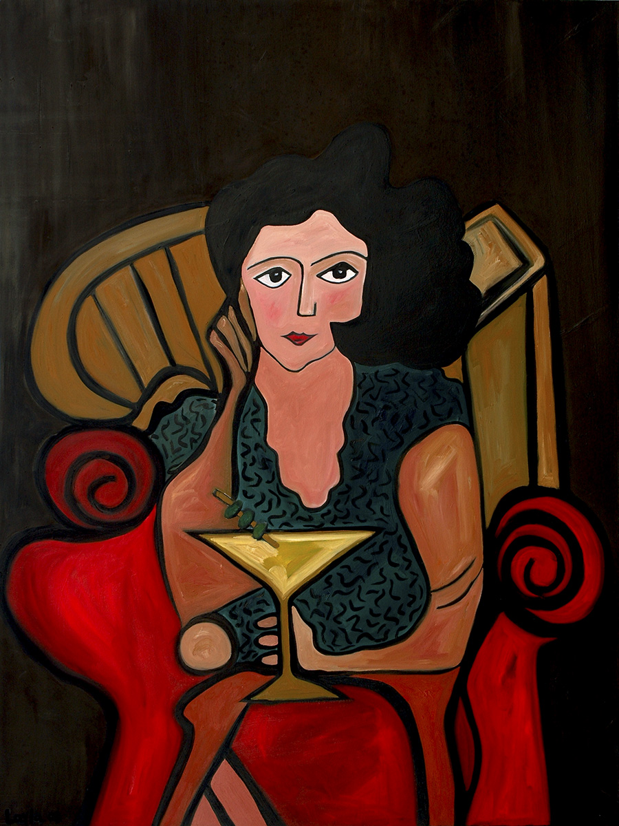 The Martini Lady