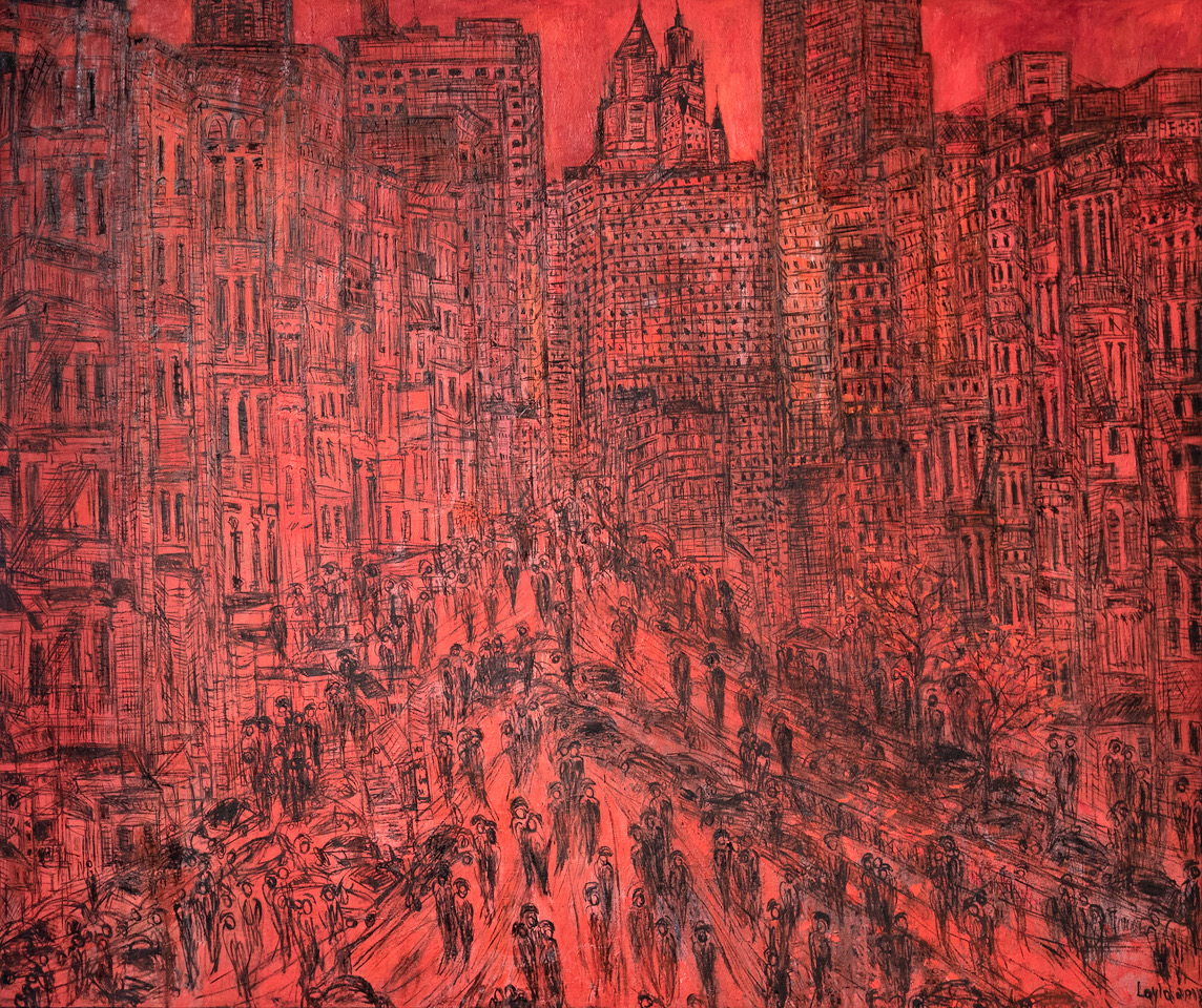 Red New York, opus 3018