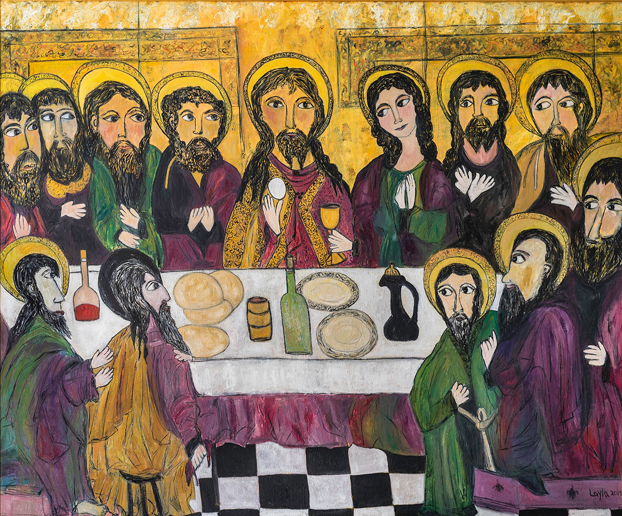 The Last Supper, Opus 5