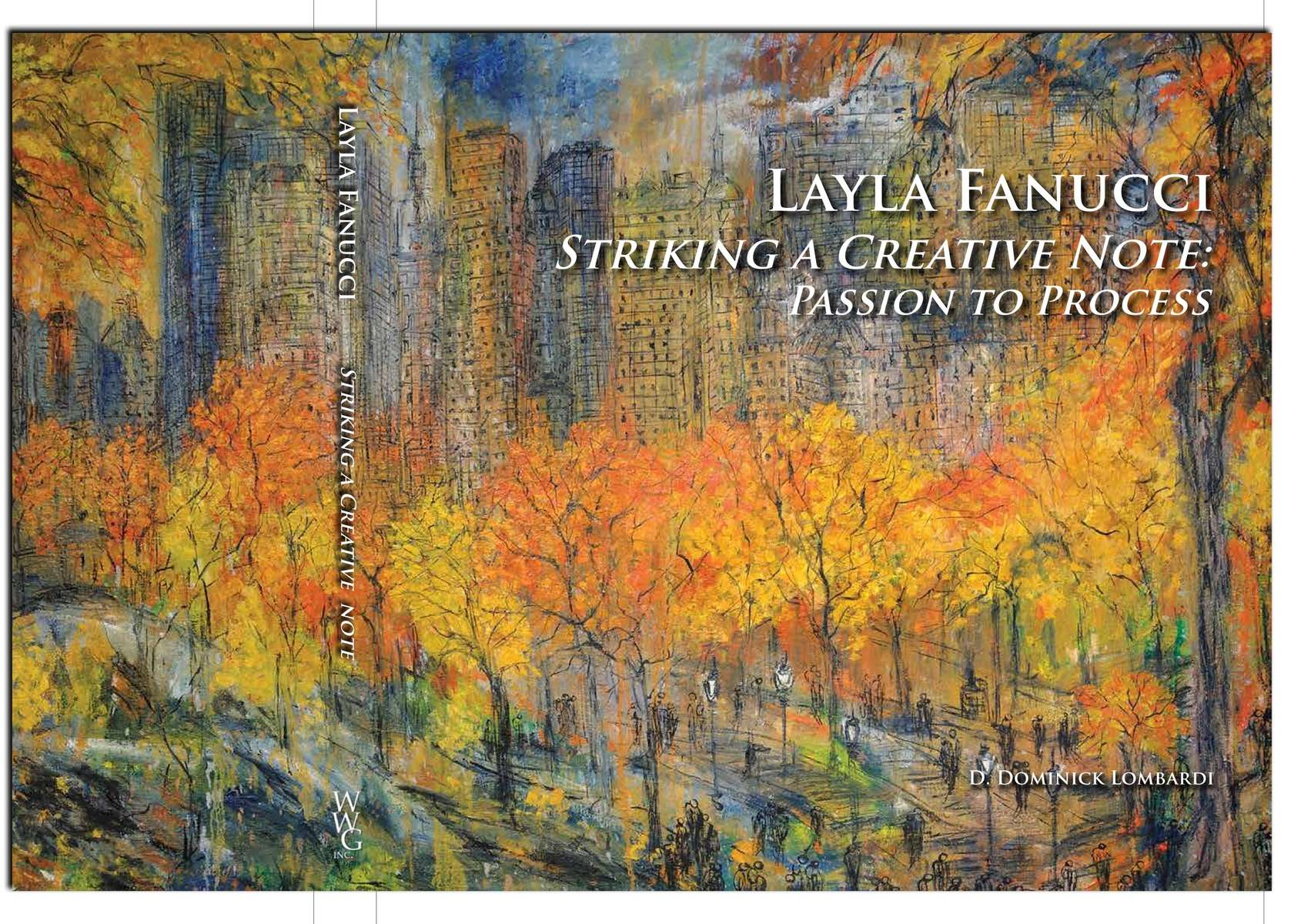 International Artist Layla FanucciStriking a Creative Note: Passion to Process$39.95