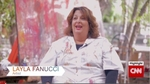 After 25 years as a music teacher, Layla Fanucci now lives her life to a different tune; as an acclaimed painter. Source: CNN