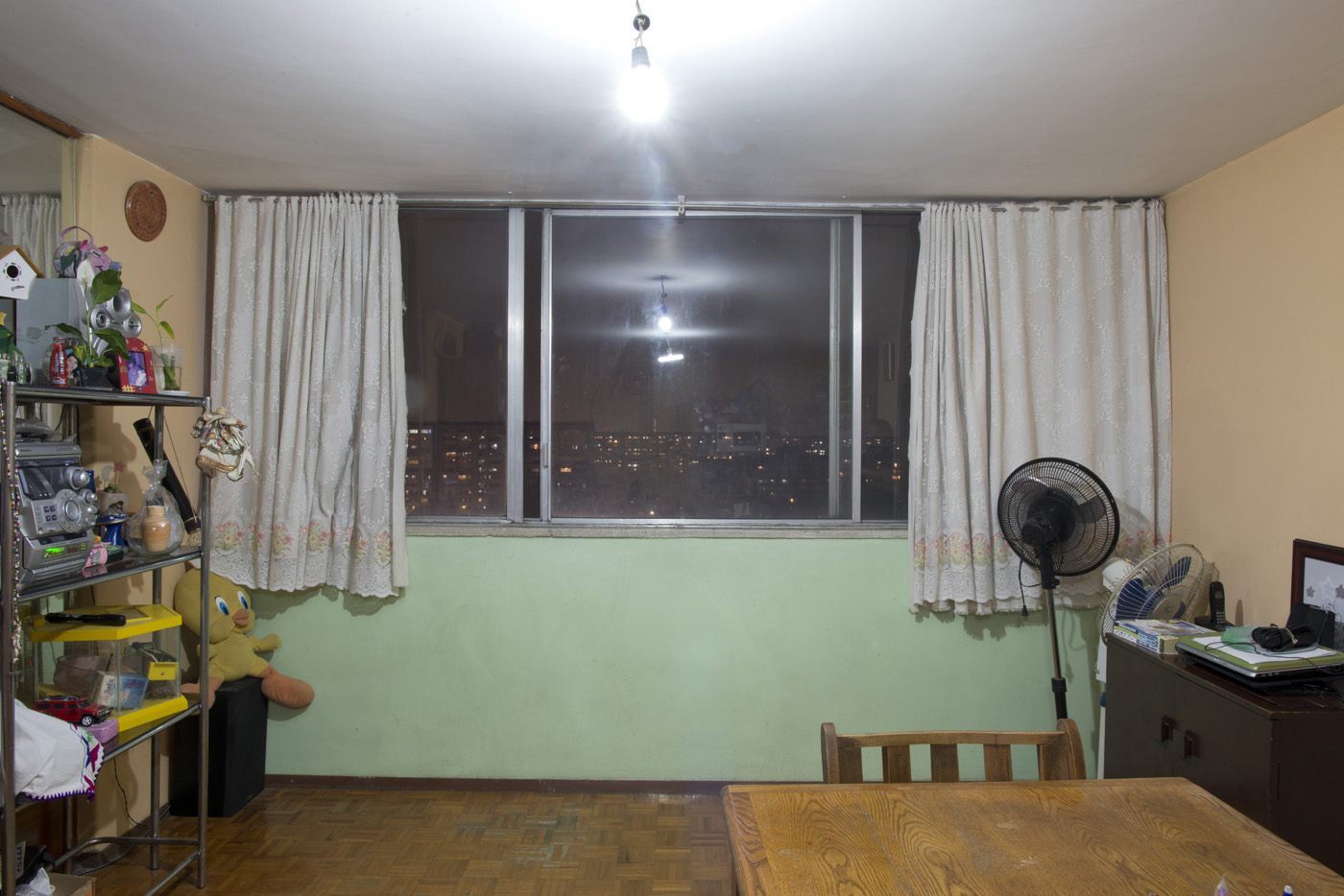 Inside the aprtments, window shots of the Chihuahua building, Tlatelolco Mexico DF
