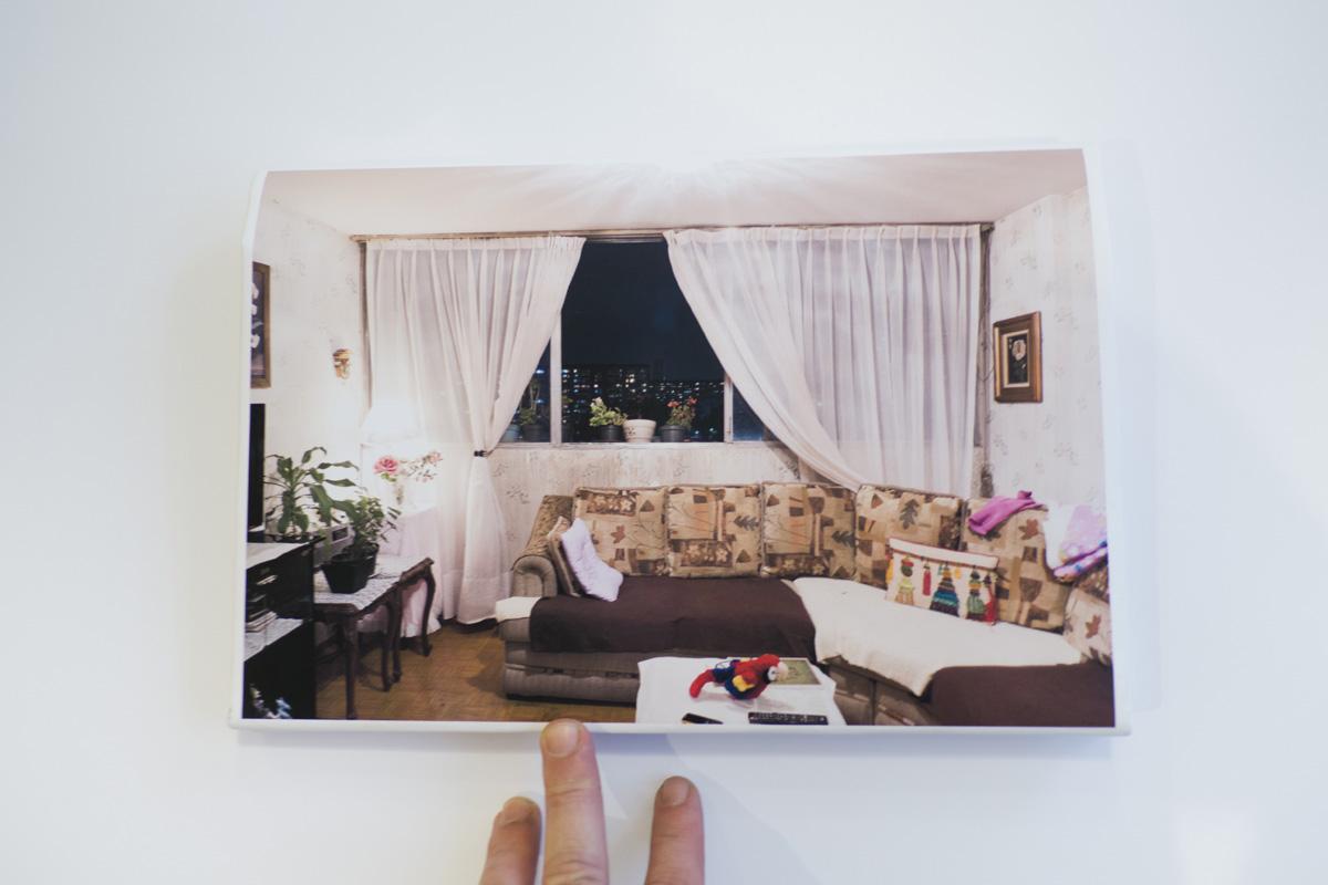 Documentation of poster of Ventanas, Tlatelolco desmentido.
