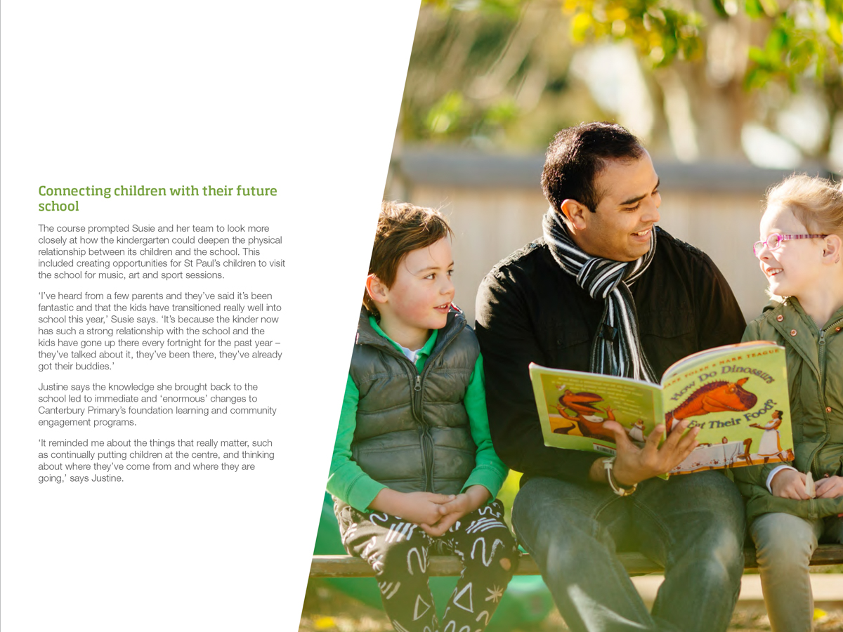 Leading Continuity of Early Learning - Impact Case Study