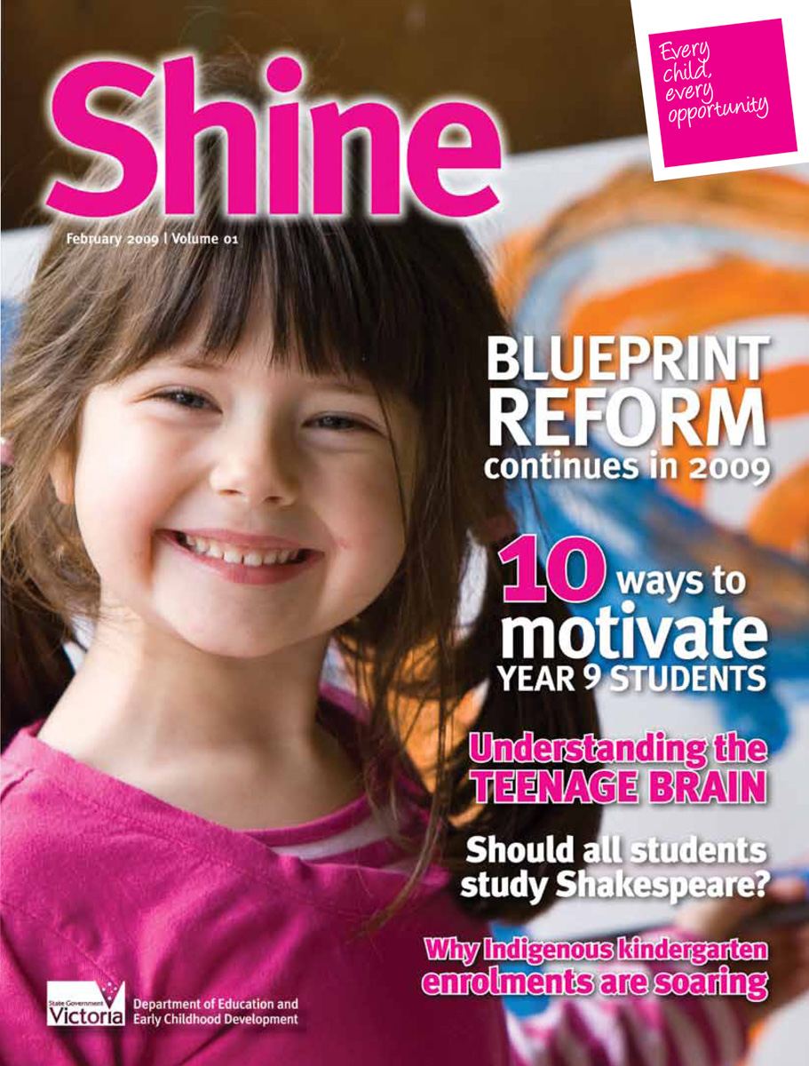 Shine, Volume 1, February 2009