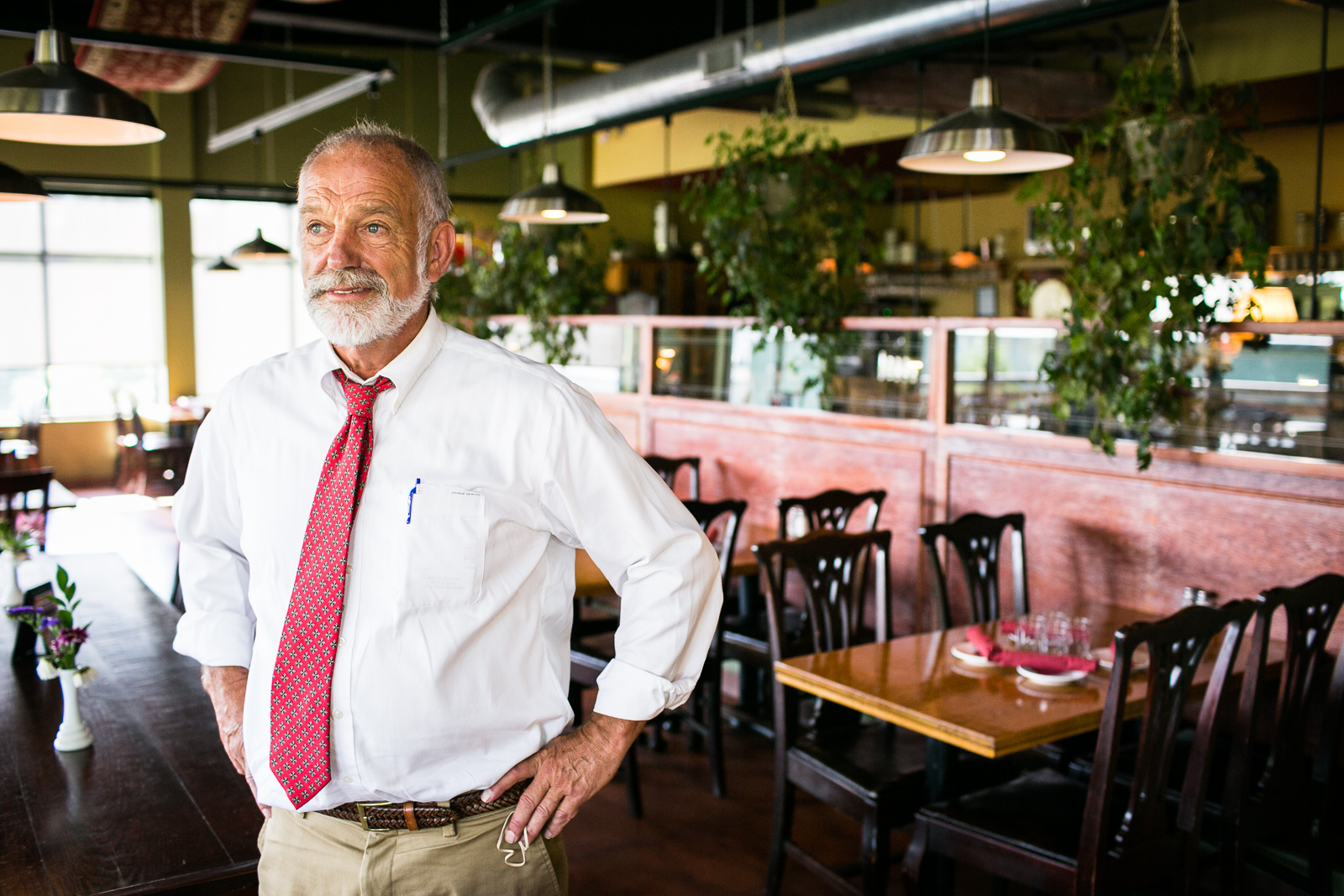 Will Patten, owner of the Hinesburgh Public House, on Wednesday, August 10, 2016.