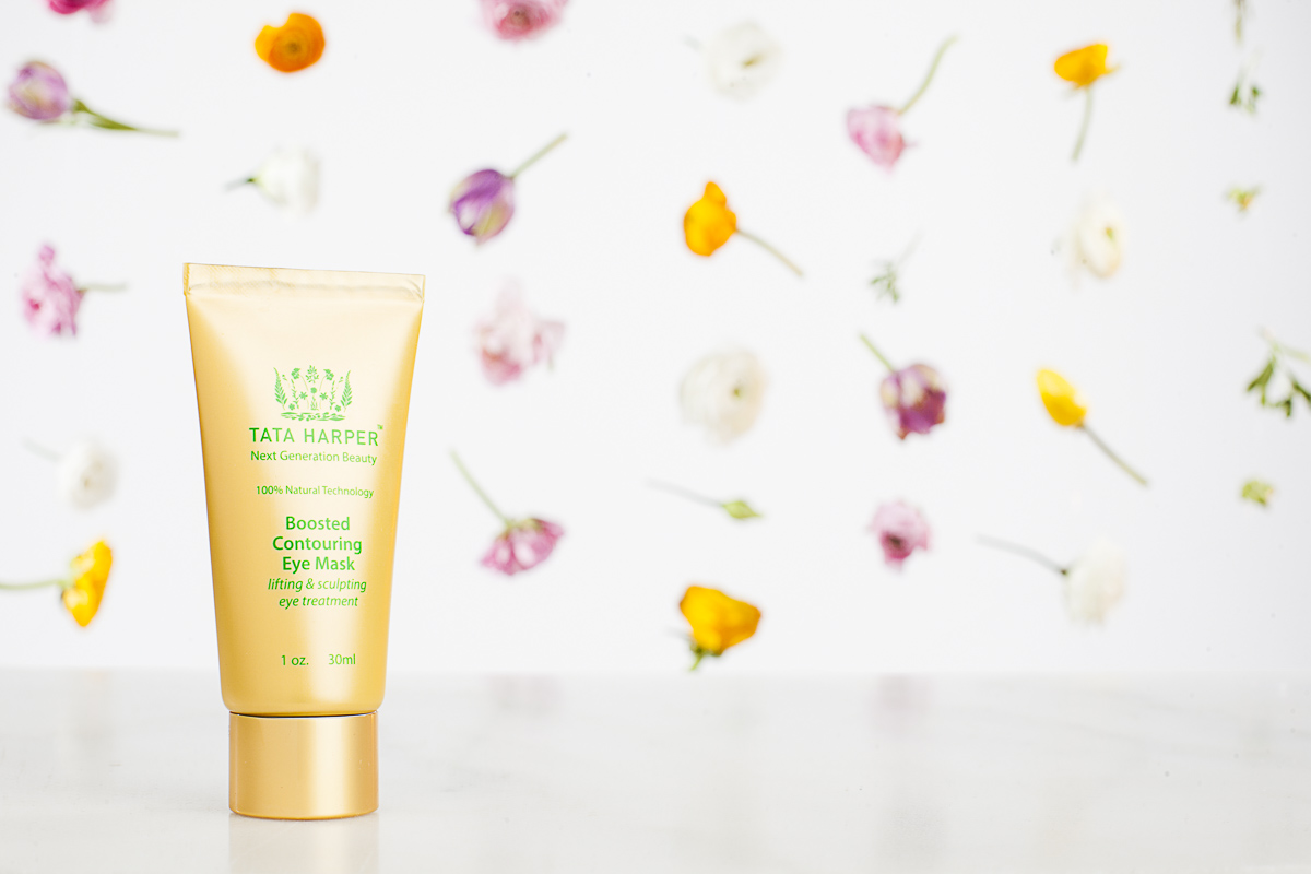 Skincare and cosmedic product photography. Boosted Contouring Eye Mask by TaTa Harper, photo by Jam Creative.