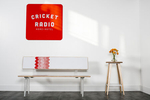 Custom furniture and wall art by Cricket Radio. Photo by Jam Creative.
