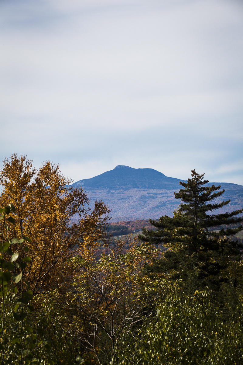 Camel's Hump Mountain can be seen in the distance on this walking tour by Country Walkers. Photo by JAM Creative.