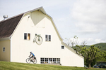 Vermont Bicycling and Walking Vacations bike barn in Bristol, Vermont. by JAM Creative