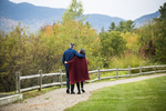 Vermont Bicycling and Walking Vacations bike tour at Top Notch Resort in Stowe, Vermont during fall foliage season. by JAM Creative