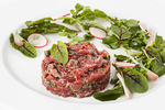 Steak Tartare photo by Jam Creative for BlueBird Tavern.
