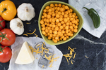 Cheddar cheese puffs by Twin Peak's Organics, photo by Jam Creative.