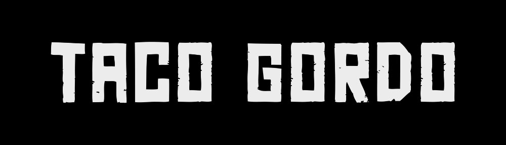 A simple, yet striking brand logo for local vermont food truck taco gordo.