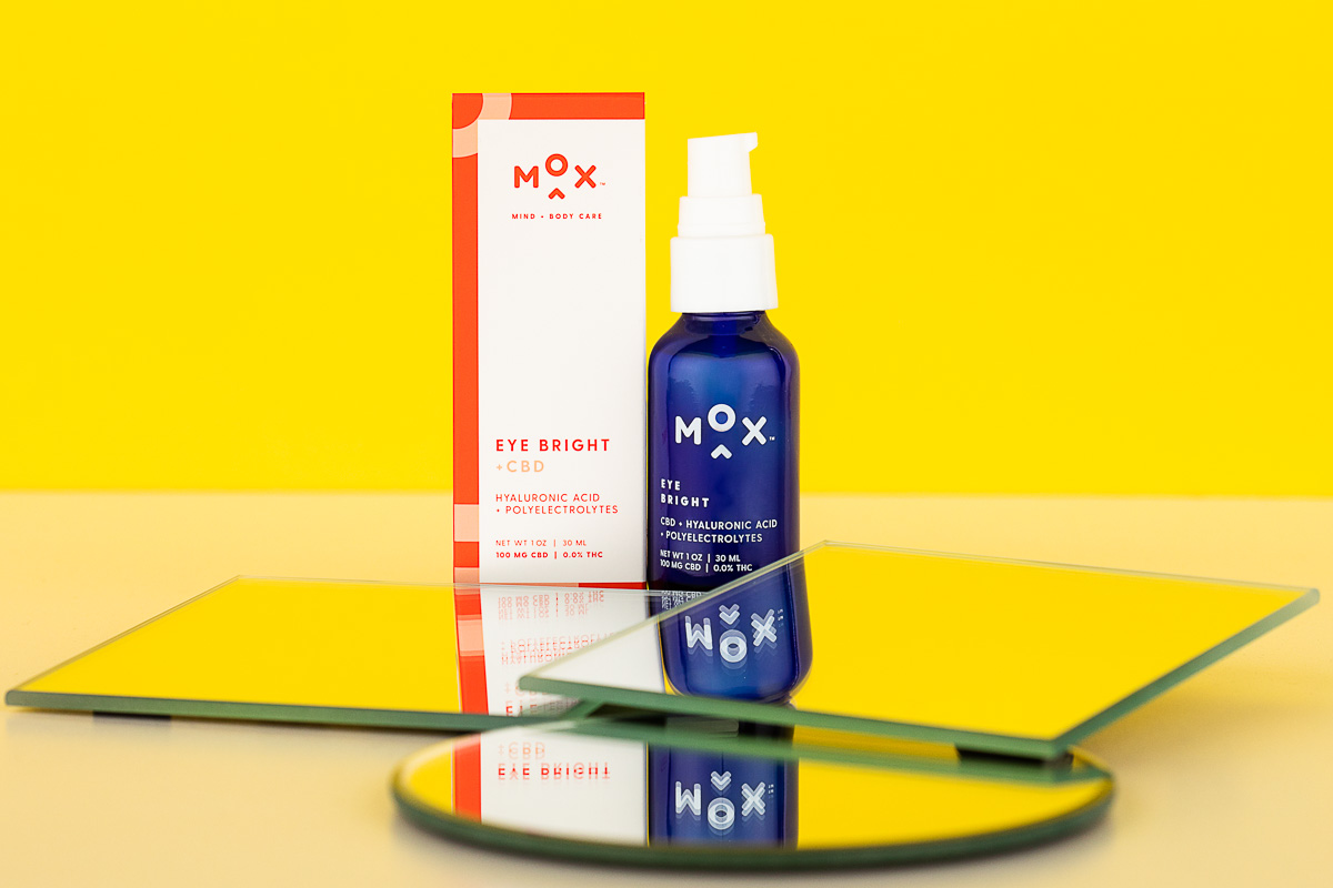 Skin care photography for Mox Mind + Body Skincare, by product photographers at JAM Creative