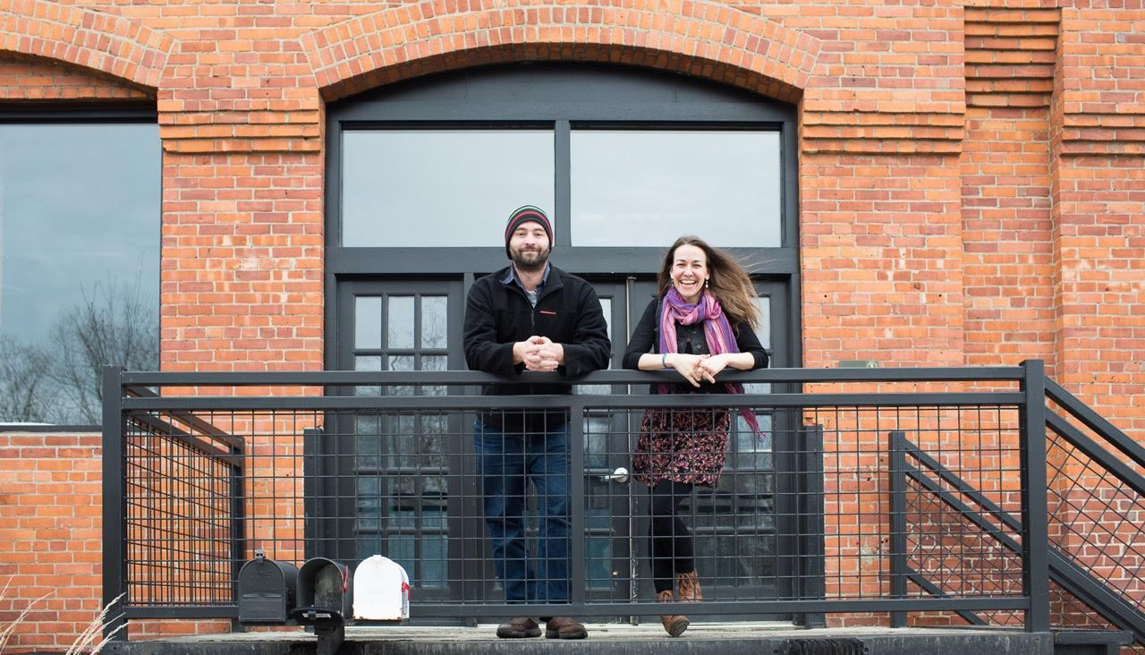 Judd Lamphere and Monica Donovan are the co-owners and creative directors behind Jam Creative, a local burlington vermont enterprise.
