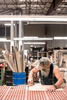 Capturing the creative process of woodworking product creation for Vermont Energy Investment Corporatiob by Jam Creative in burlington vermont.