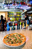 Jam Creative goes on location at Piecasso pizza in Stowe Vermont to capture pizza perfection at the bar.