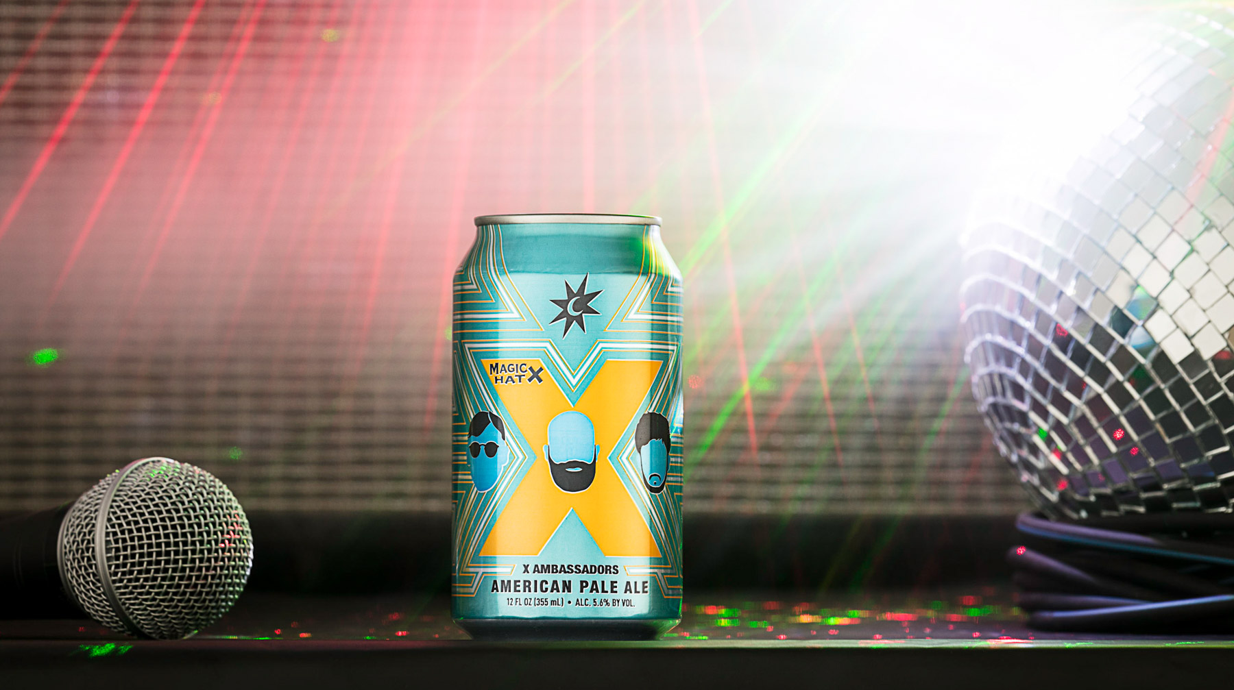 Beverage Product Photography of Magic Hat Beer. By burlington photographers at JAM Creative in Vermont.