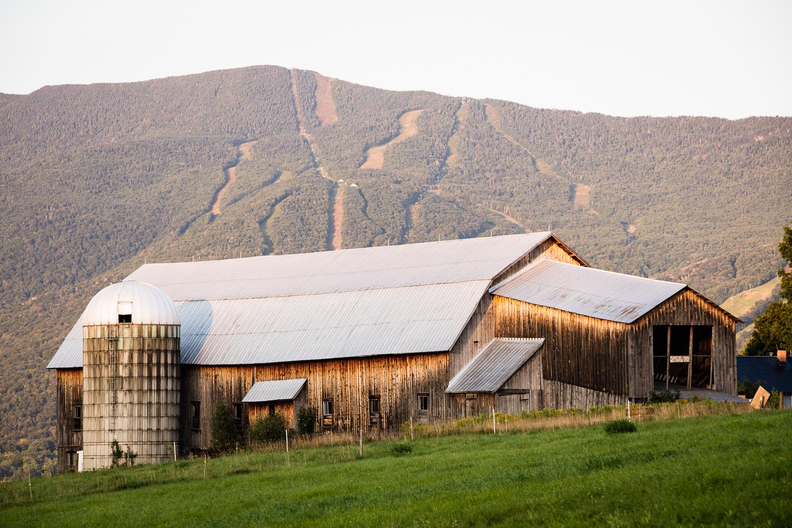 Bragg Farm in Fayston, Vermont.