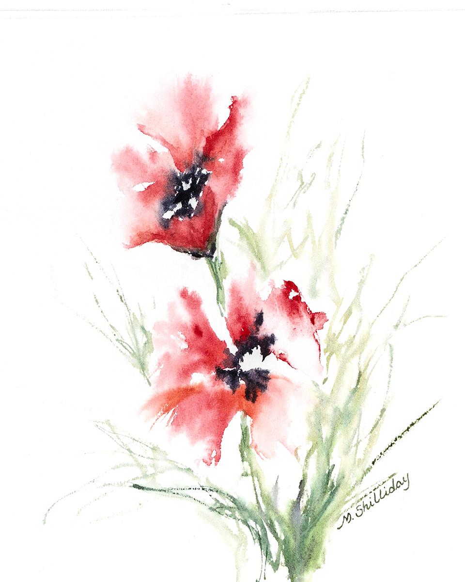 Martha Shilliday watercolors.