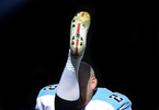 Tennessee Titans kicker Rob Bironas warms up before an NFL football game between the Titans and the San Diego Chargers on Sept. 22, 2013, in Nashville, Tenn. (AP Photo/ Mark Zaleski)