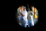 Passengers spend time admiring the sceenery during the Kelso Flyer train ride. (The Press-Enterprise/ Mark Zaleski)