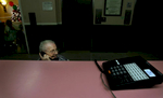 Helen Bodo, 91, talks to her daughter on the phone. {quote}My daughter told me that I will have a place to livesoon, it's just going take a little time{quote} Bodo said. (The Press-Enterprise/ Mark Zaleski)