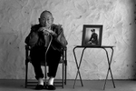 Steve Yamamoto, 84, of Riverside, Calif., was among the Japanese Americans who interrogated Japanese prisoners, intercepted Japanese military communications and interpreted documents for the U.S. military during World War II. The photo next to Yamamoto is when hewas a U.S. Army captain on leave in Chicago in 1945. (The Press-Enterprise/ Mark Zaleski)