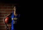 North High School girls basketball player Shavon Moore of Riverside, Calif., earned a college scholarship to Cal Baptist Univeristy. (The Press-Enterprise/ Mark Zaleski)