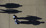 Fans arrive at LP Field for an NFL football game between the Tennessee Titans and the Houston Texans on Dec. 29, 2013, in Nashville, Tenn. (AP Photo/ Mark Zaleski)