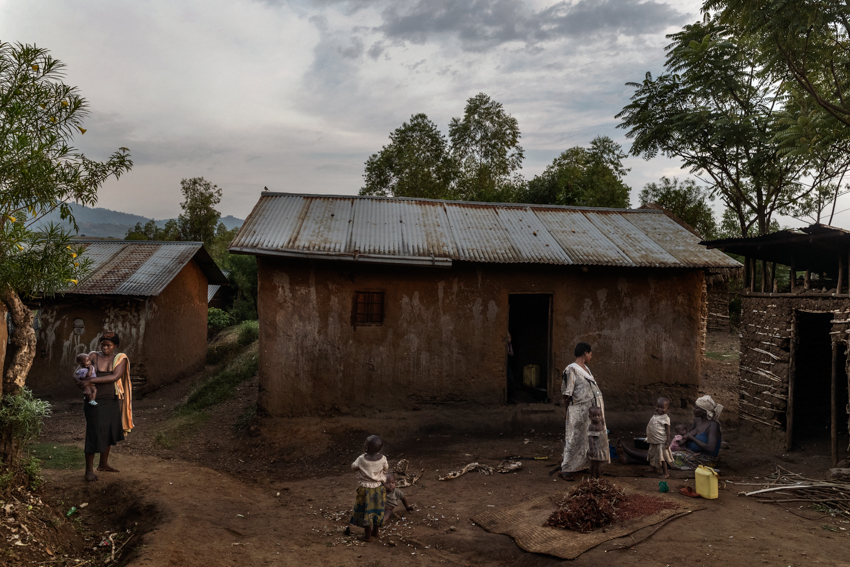 Africa, Democratic Republic of Congo, North Kivu, Rutchuru, 26/01/2017.  A glimpse of Rutshuru, a land in the remote areas of the North Kivu, has always been under the control of several armed groups.